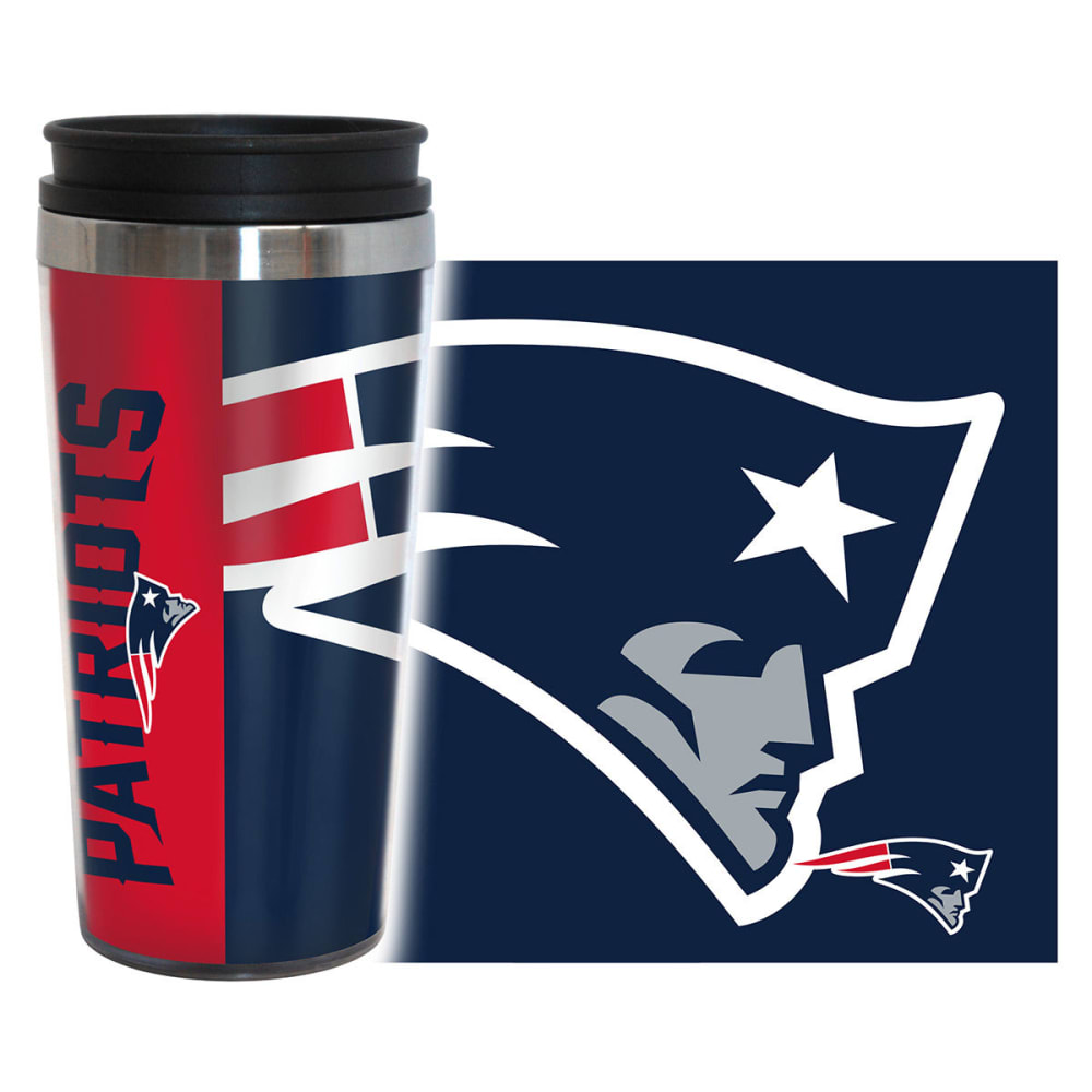 NEW ENGLAND PATRIOTS Hype Travel Tumbler - NAVY
