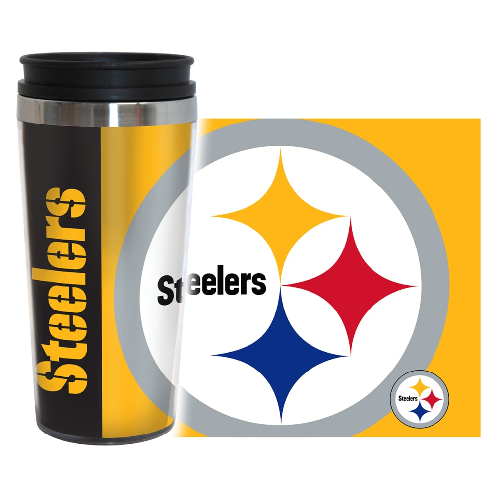 PITTSBURGH STEELERS Hype Travel Tumbler - STEELERS
