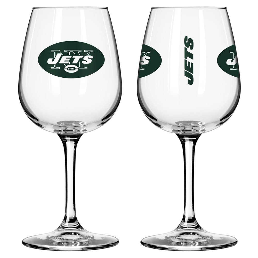 NEW YORK JETS Game Day Wine Glasses, 2-Pack - JETS