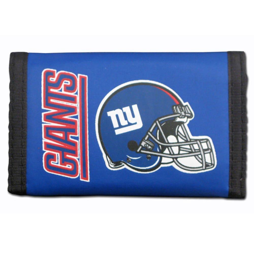 RICO INDUSTRIES/TAG EXPRESS New York Giants Nylon Tri-Fold Wallet - BLUE