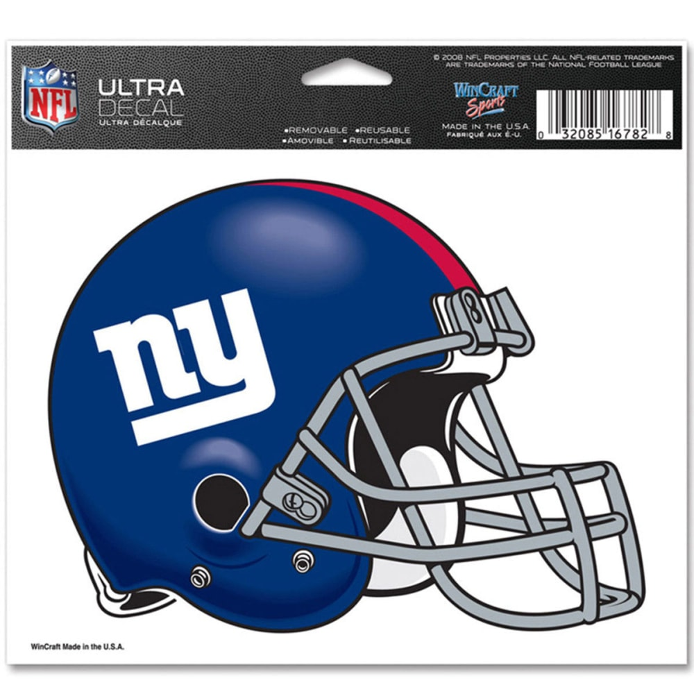 NEW YORK GIANTS Ultra Decal - ASSORTED