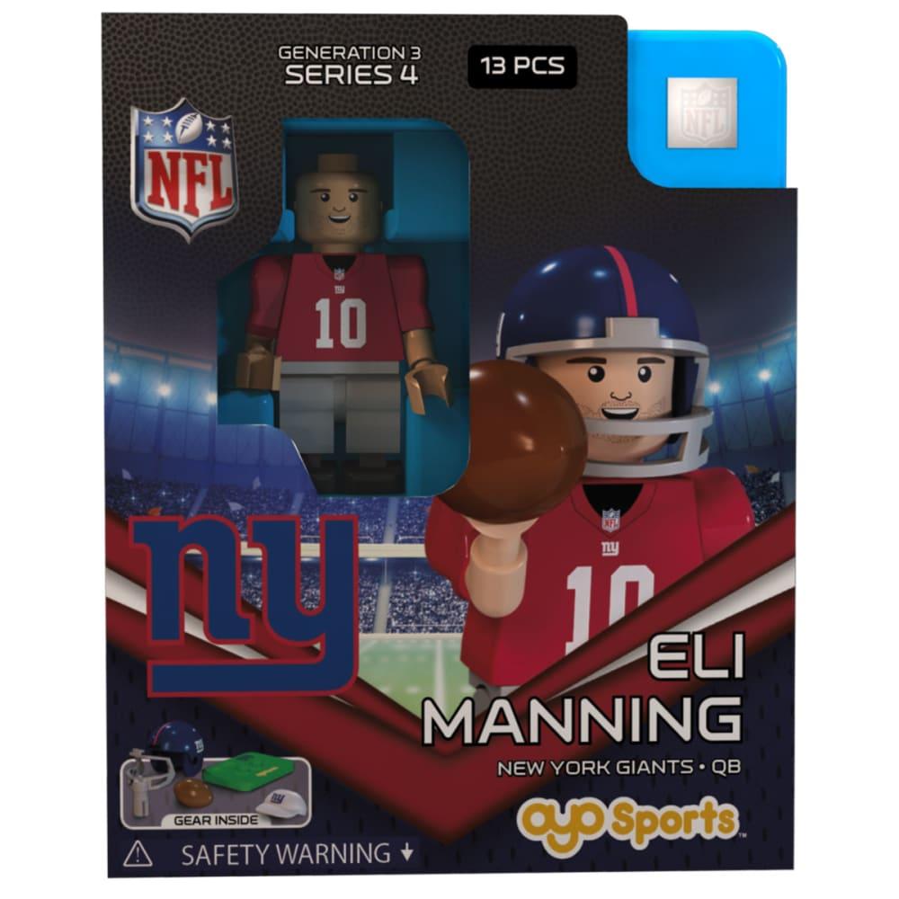 NEW YORK GIANTS Eli Manning OYO Minifigure - GIANTS