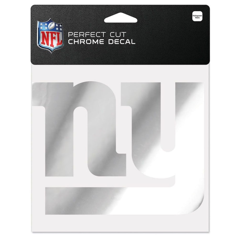 NEW YORK GIANTS Wincraft Chrome Decal ONE SIZE