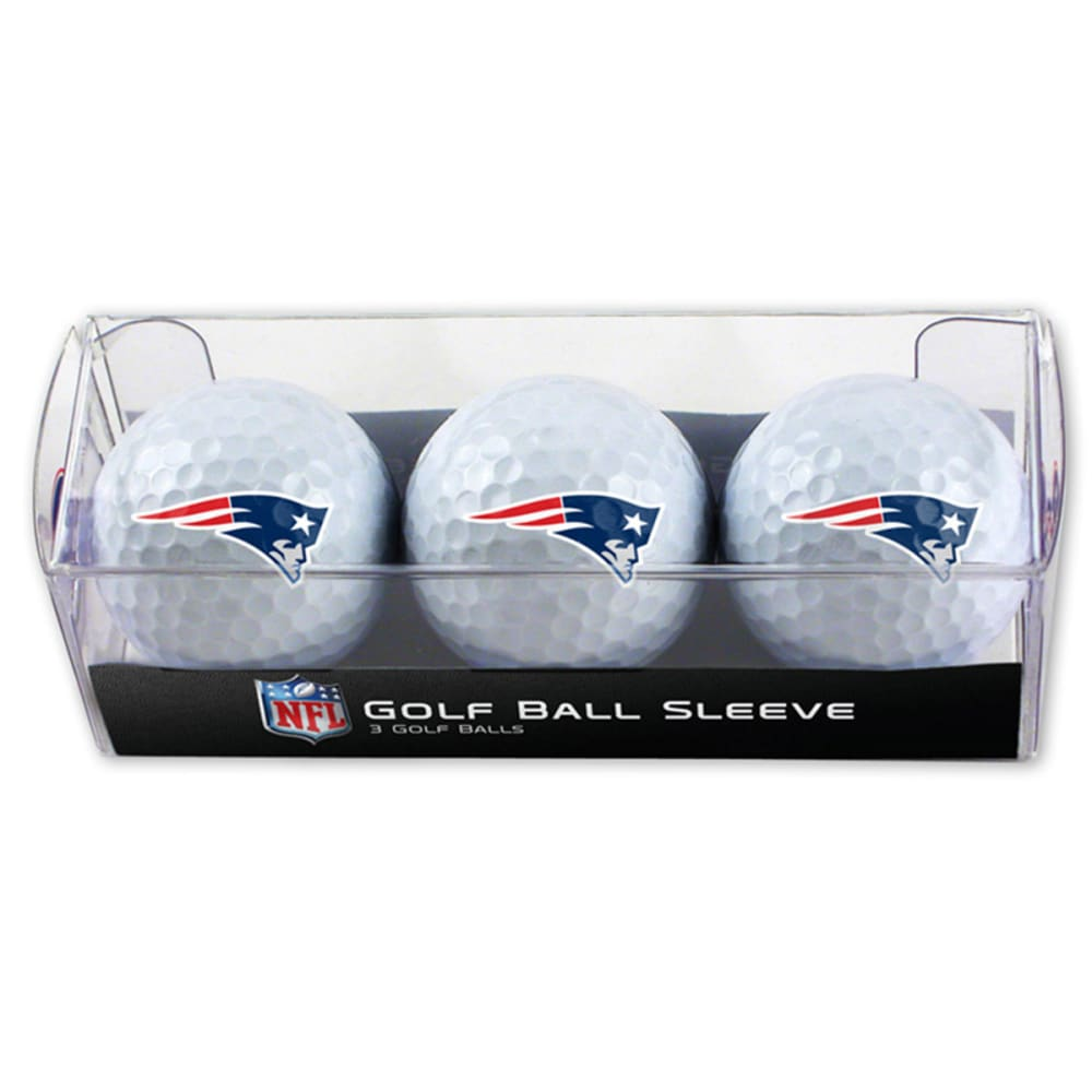 NEW ENGLAND PATRIOTS Golf Balls, 3-Pack - ASSORTED