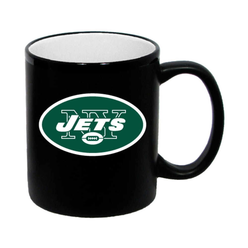 NEW YORK JETS 2-Tone Mug - BLACK