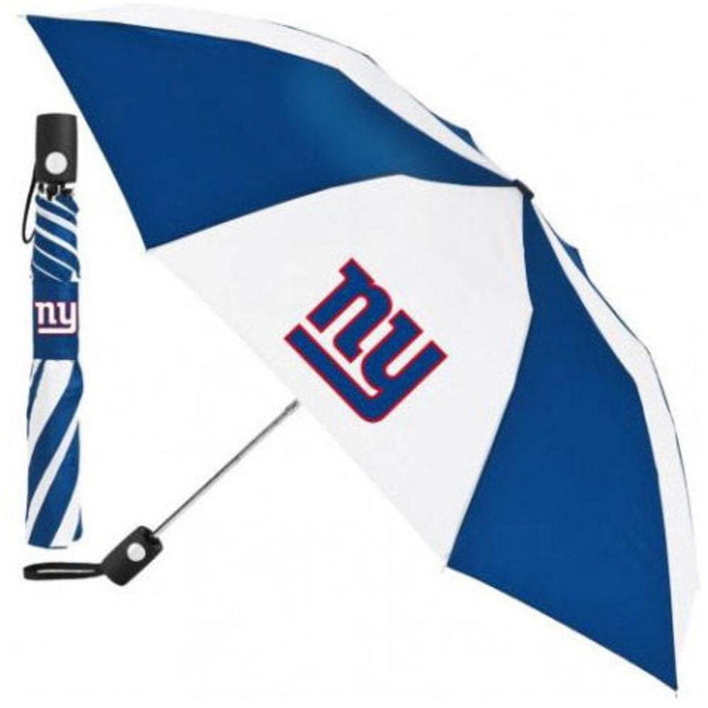 NEW YORK GIANTS Automatic Folding Umbrella ONE SIZE
