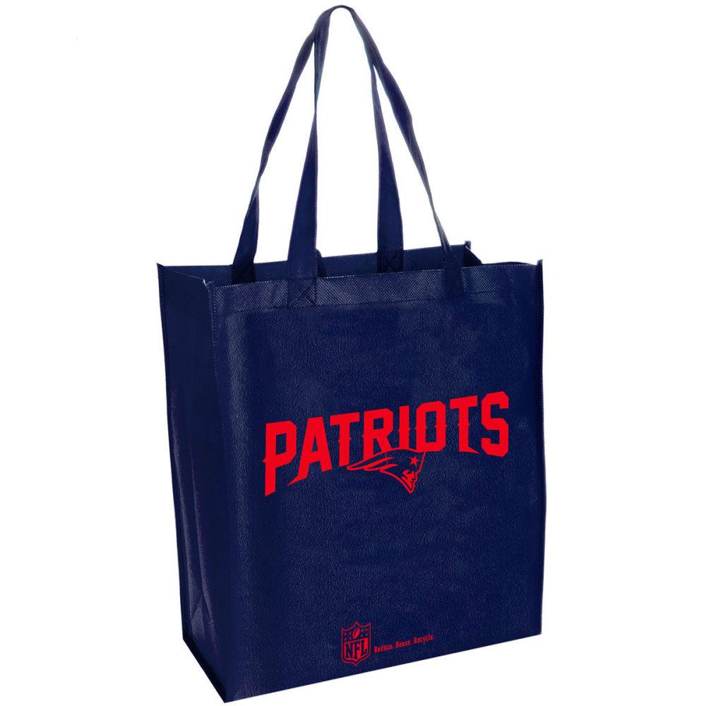 NEW ENGLAND PATRIOTS Cloth Reusable Bag - CRYSTAL