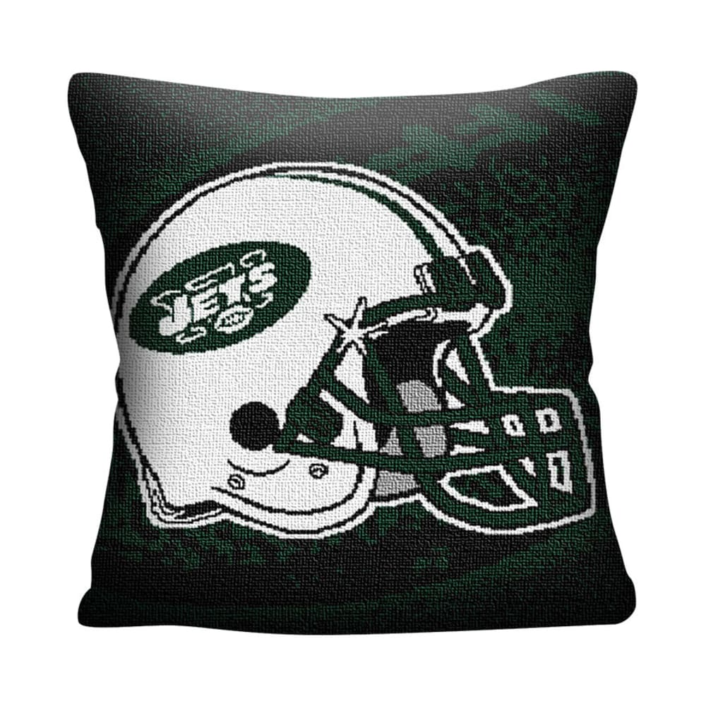 NEW YORK JETS Woven Pillow - ASSORTED