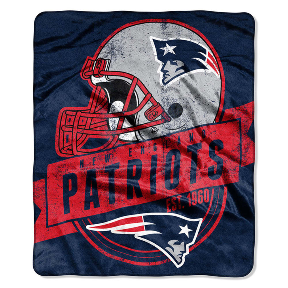 NEW ENGLAND PATRIOTS Raschel Blanket - ASSORTED