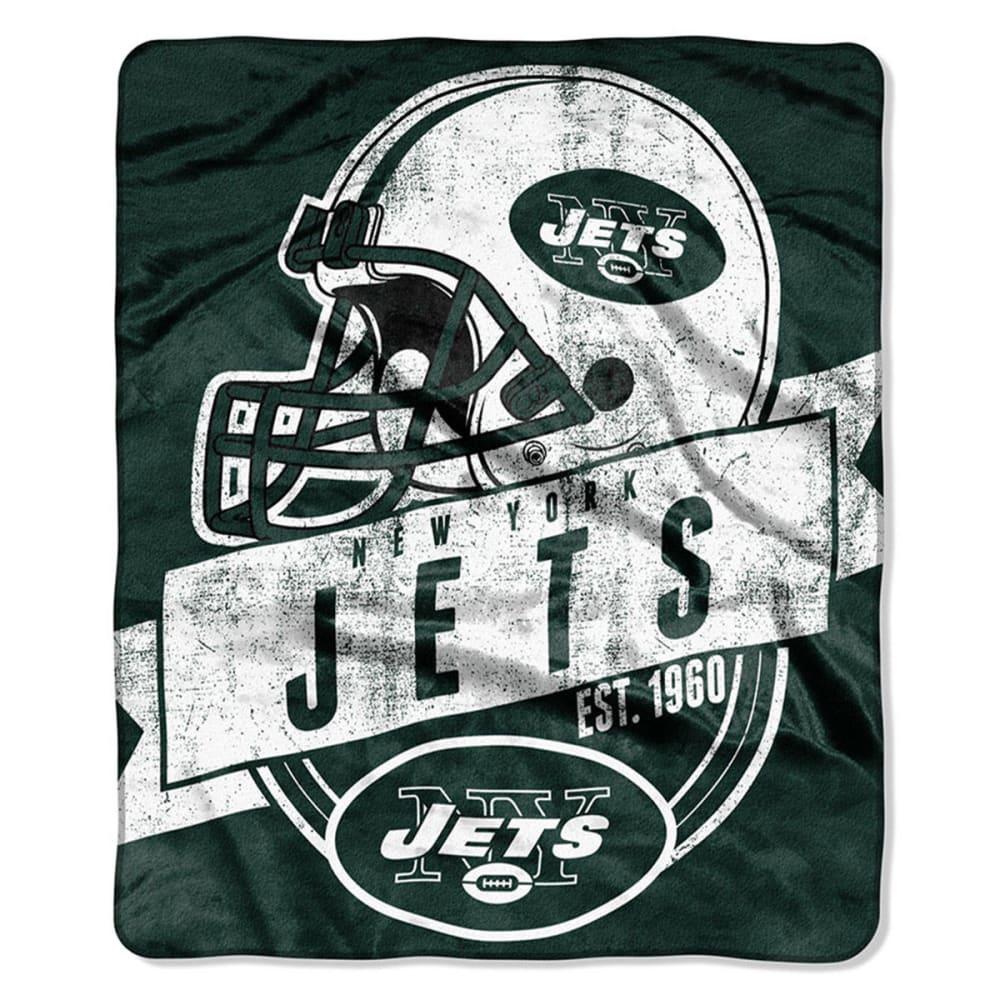 NEW YORK JETS Raschel Blanket - ASSORTED