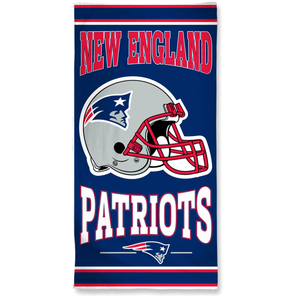 NEW ENGLAND PATRIOTS Beach Towel - BLOWOUT ONE SIZE