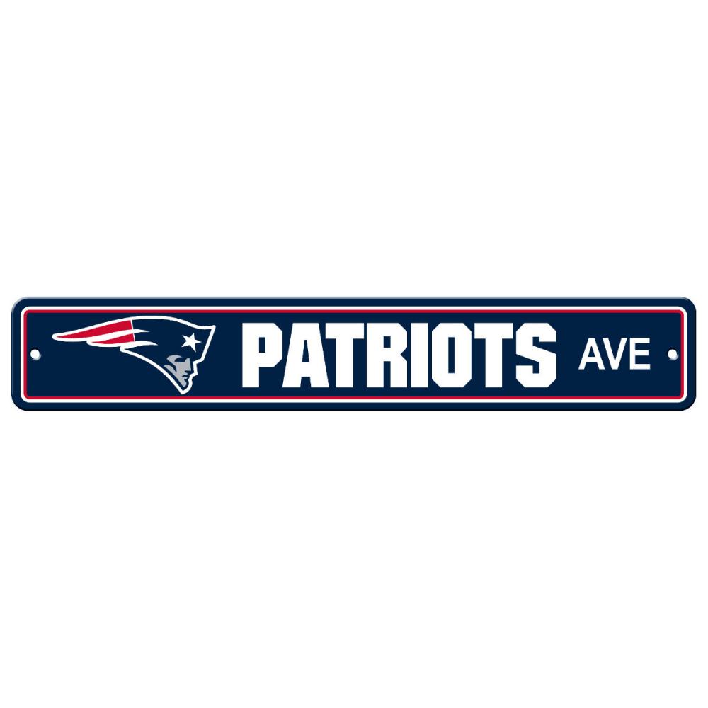 NEW ENGLAND PATRIOTS Street Sign - NAVY