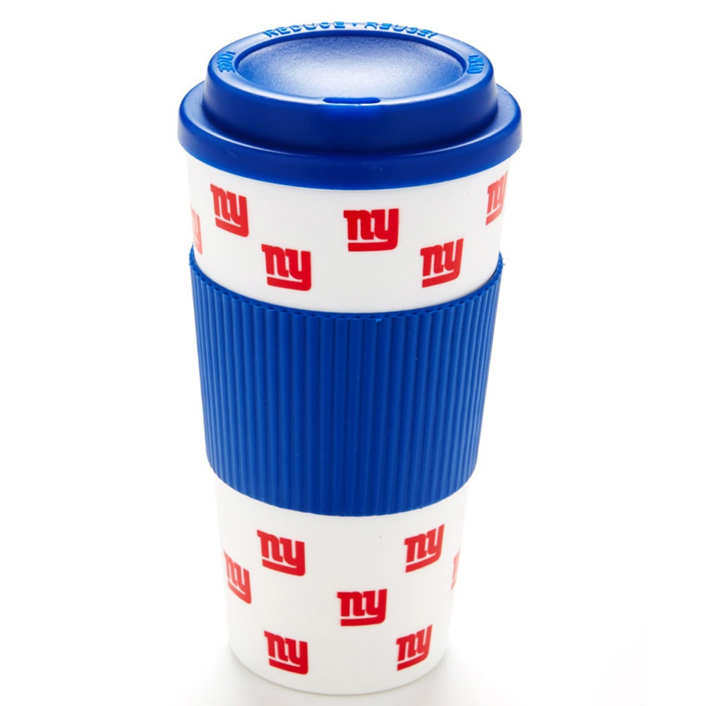 NEW YORK GIANTS Travel Tumbler With Sleeve - ASSORTED