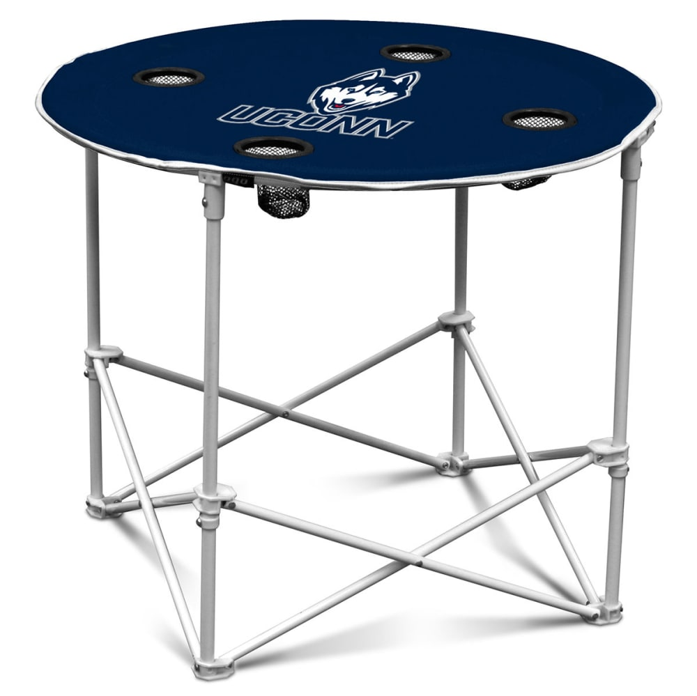 UCONN HUSKIES Round Table ONE SIZE