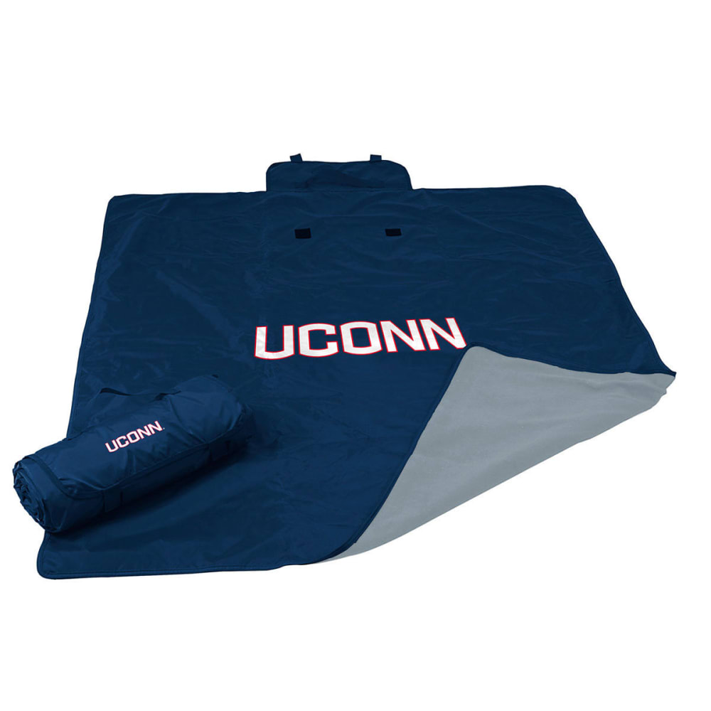 LOGO CHAIRS UConn All Weather Blanket - GREY