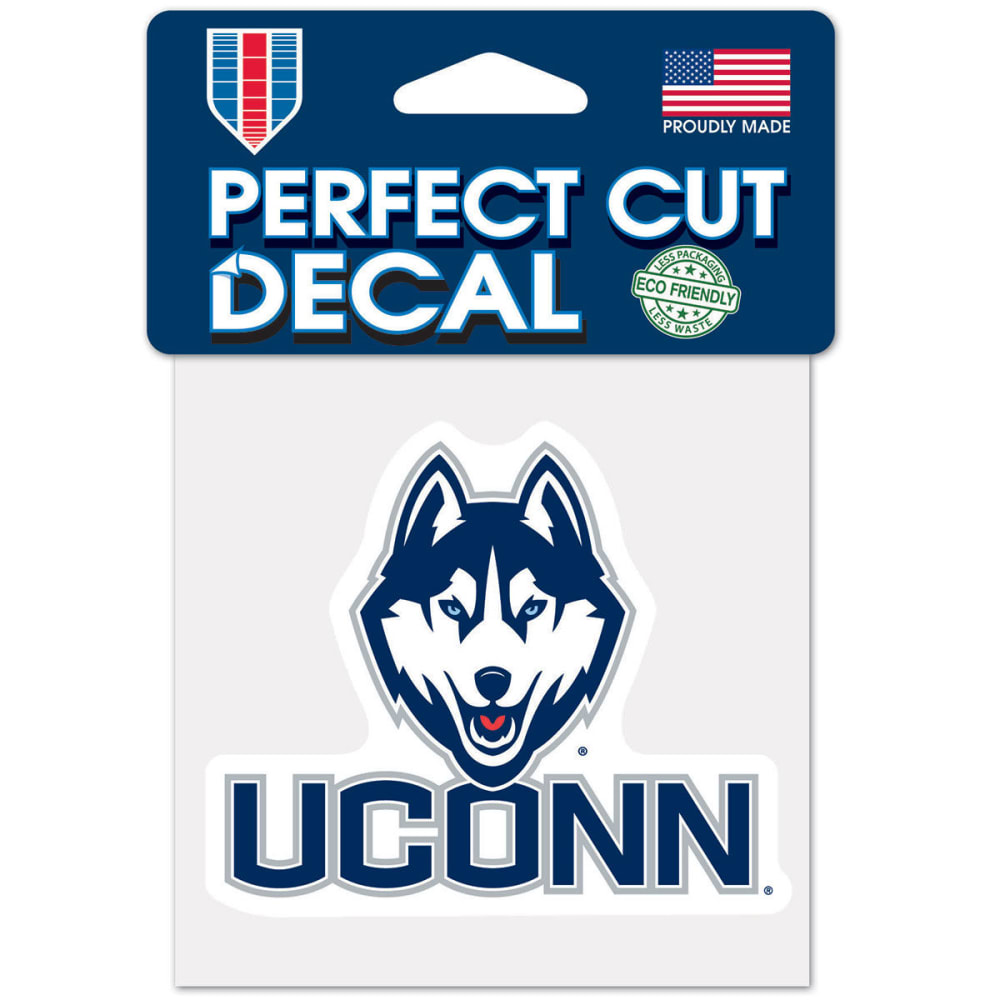 Uconn Perfect Cut Color Decal