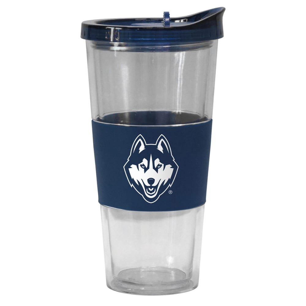 UCONN Slider Top Tumbler Compatible with Propeller Straw - NAVY