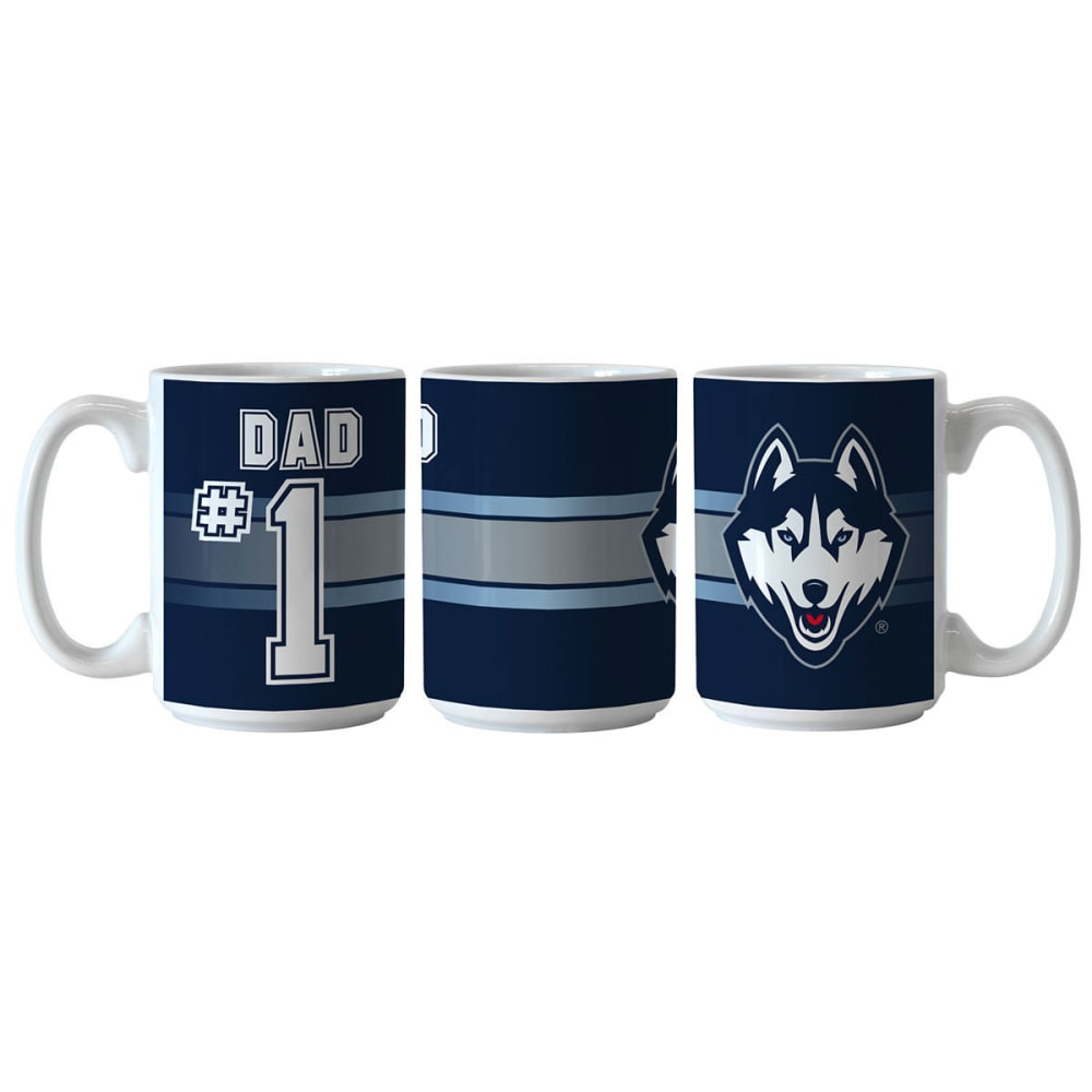 UCONN HUSKIES #1 Dad Mug - MULTI