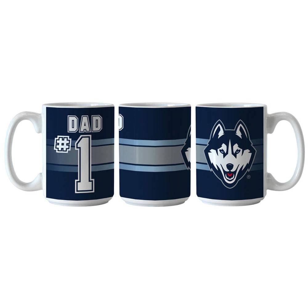 UCONN HUSKIES #1 Dad Mug - MULTI