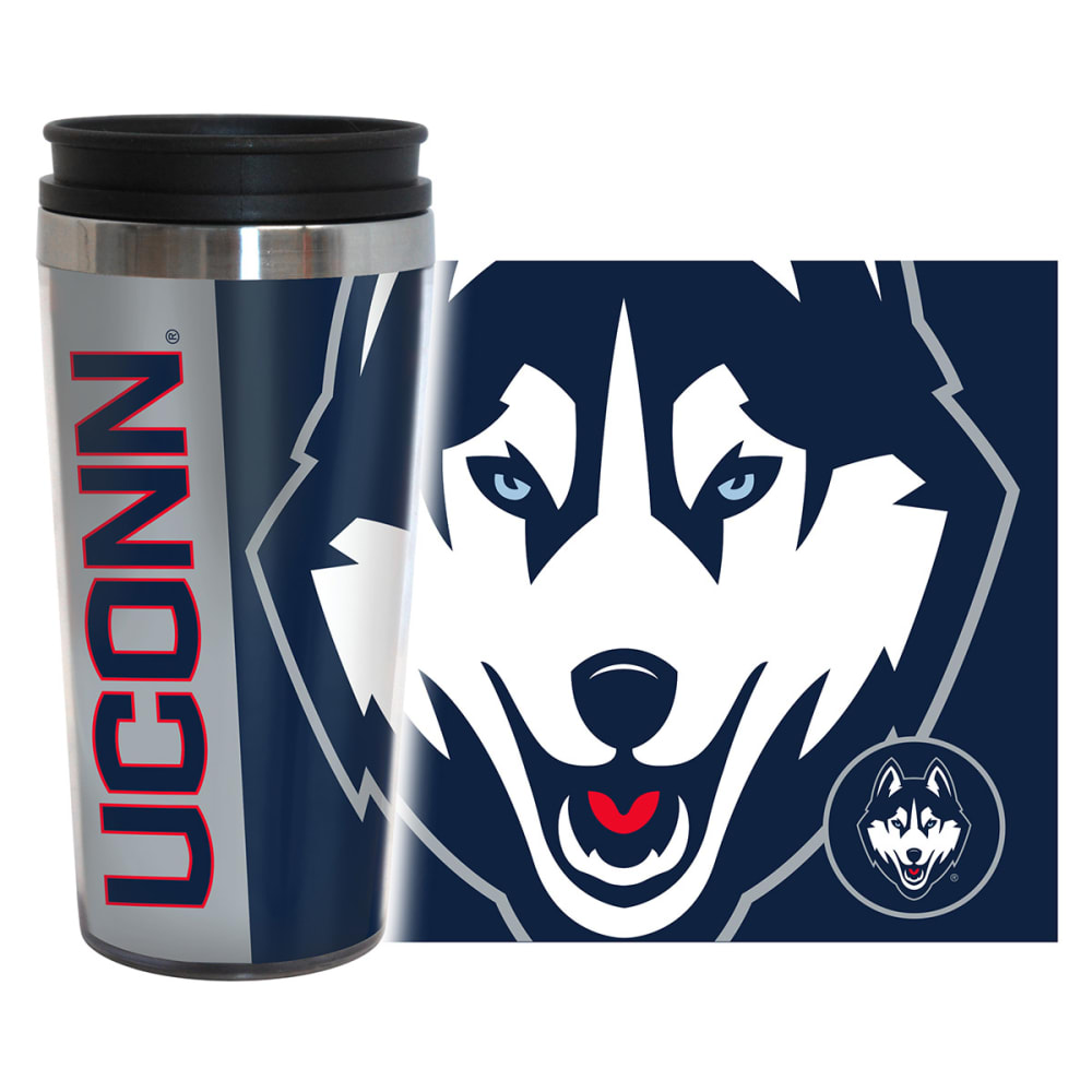 UCONN HUSKIES Hype Travel Tumbler - UCONN