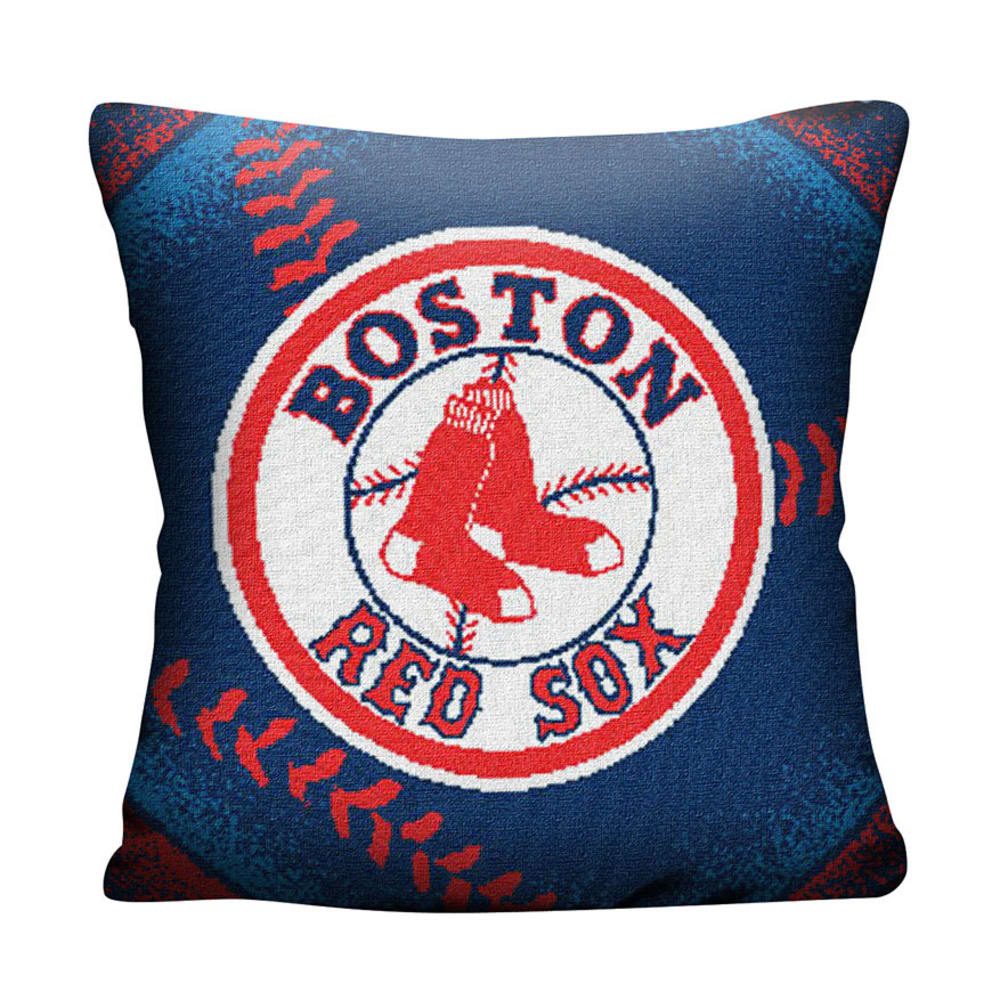 BOSTON RED SOX Woven Pillow - ASSORTED