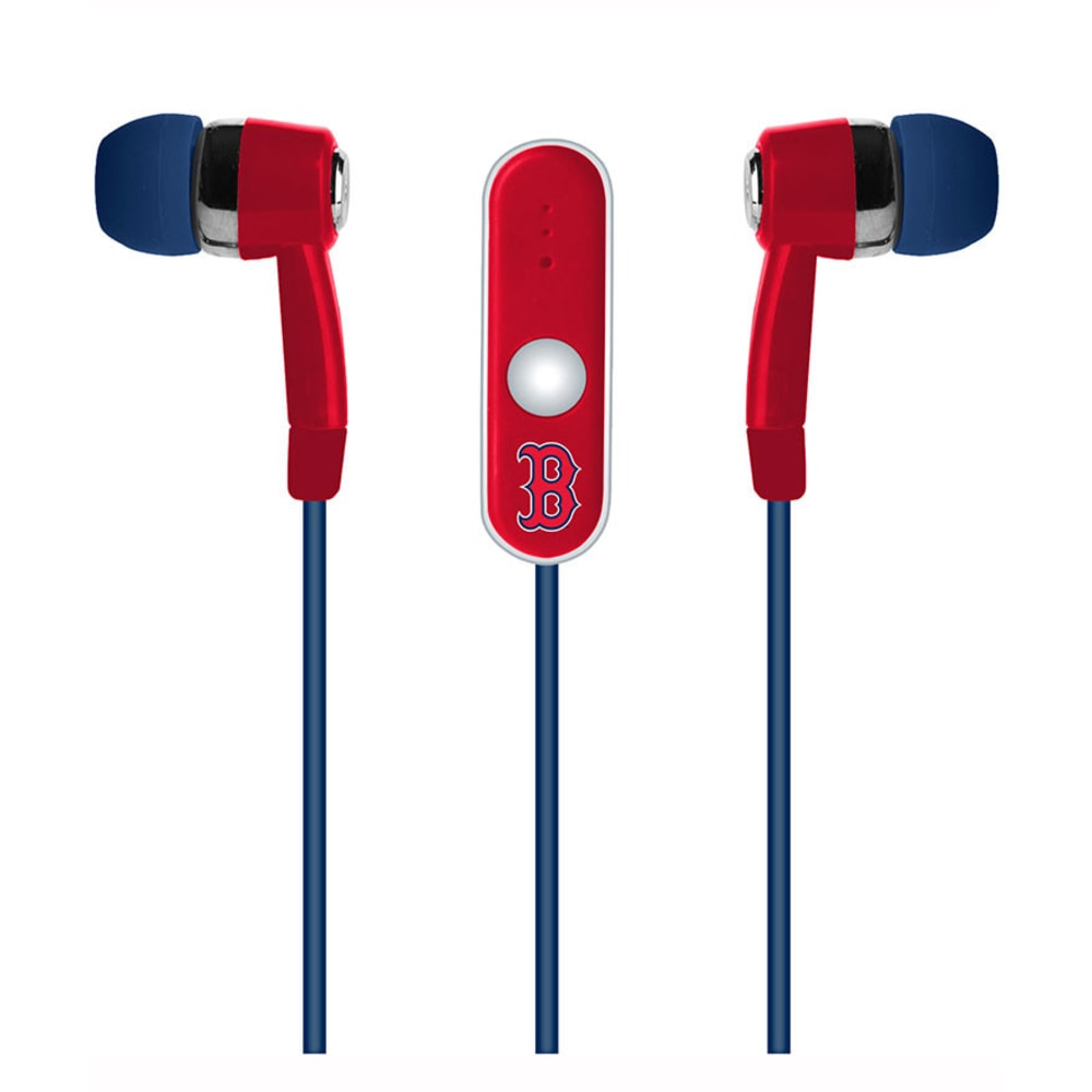 BOSTON RED SOX Audible Earbuds - ASSORTED
