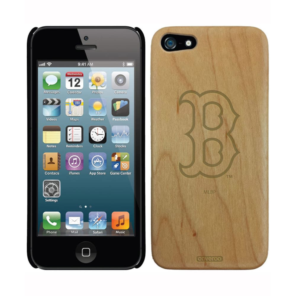 COVEROO Boston Red Sox Wood Bat iPhone Case - ASSORTED