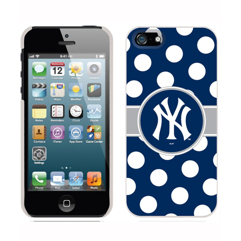 COVEROO New York Yankees Polka Dot Thinshield iPhone 5/5s Case - ASSORTED