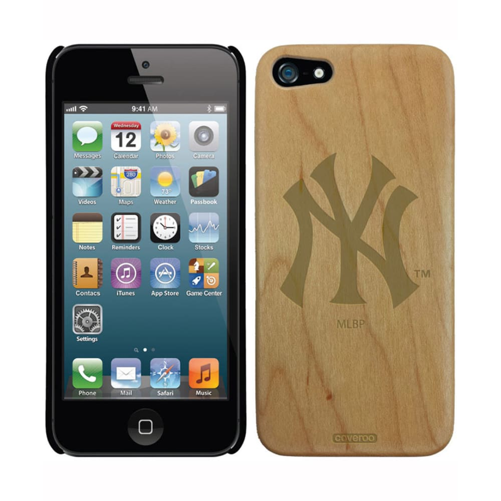 COVEROO New York Yankees Wood Bat Thinshield iPhone 5/5s Case - ASSORTED