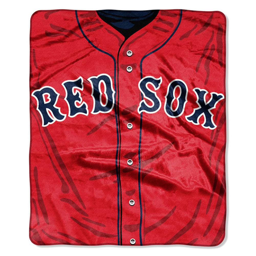 BOSTON RED SOX Raschel Blanket - ASSORTED