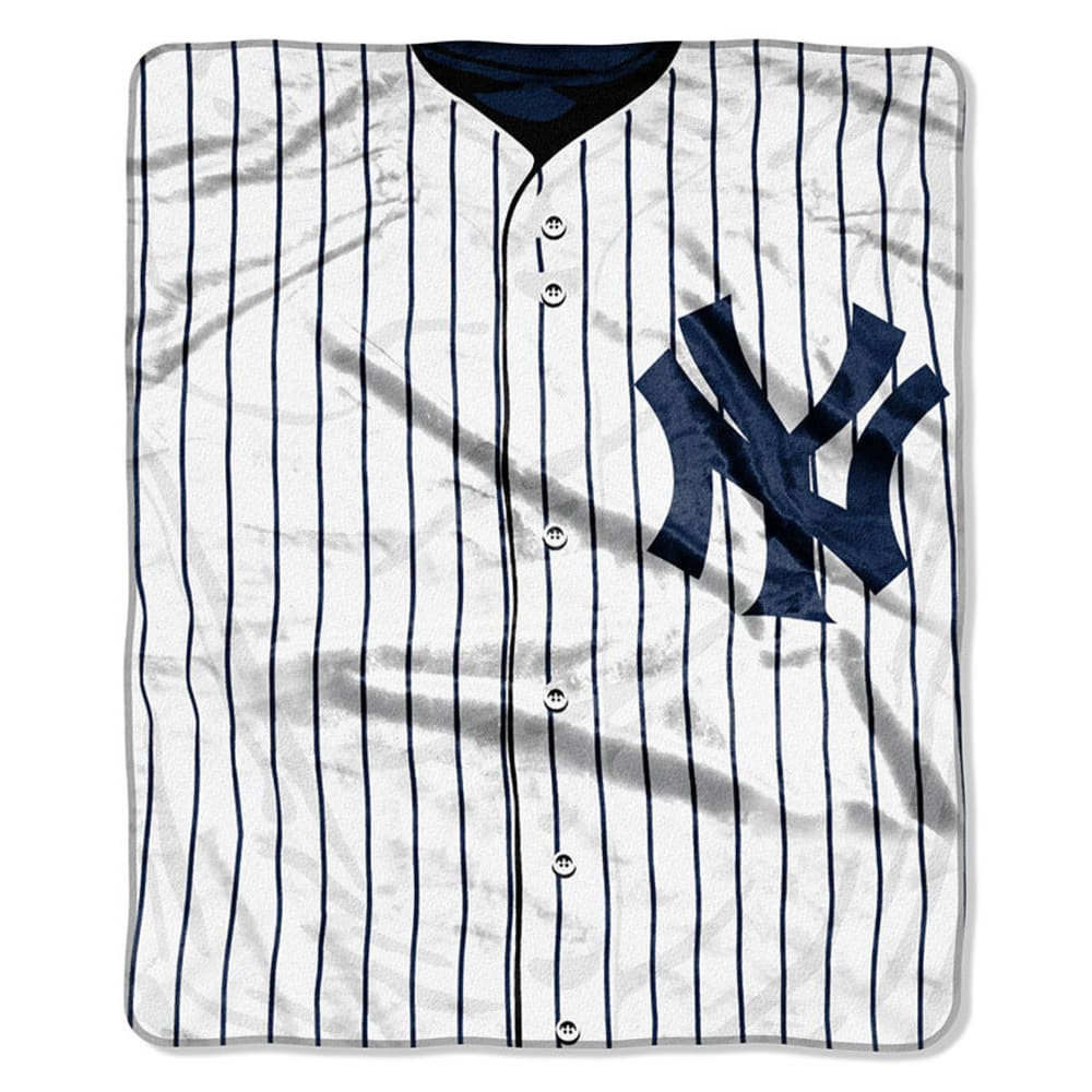NEW YORK YANKEES Raschel Blanket - ASSORTED