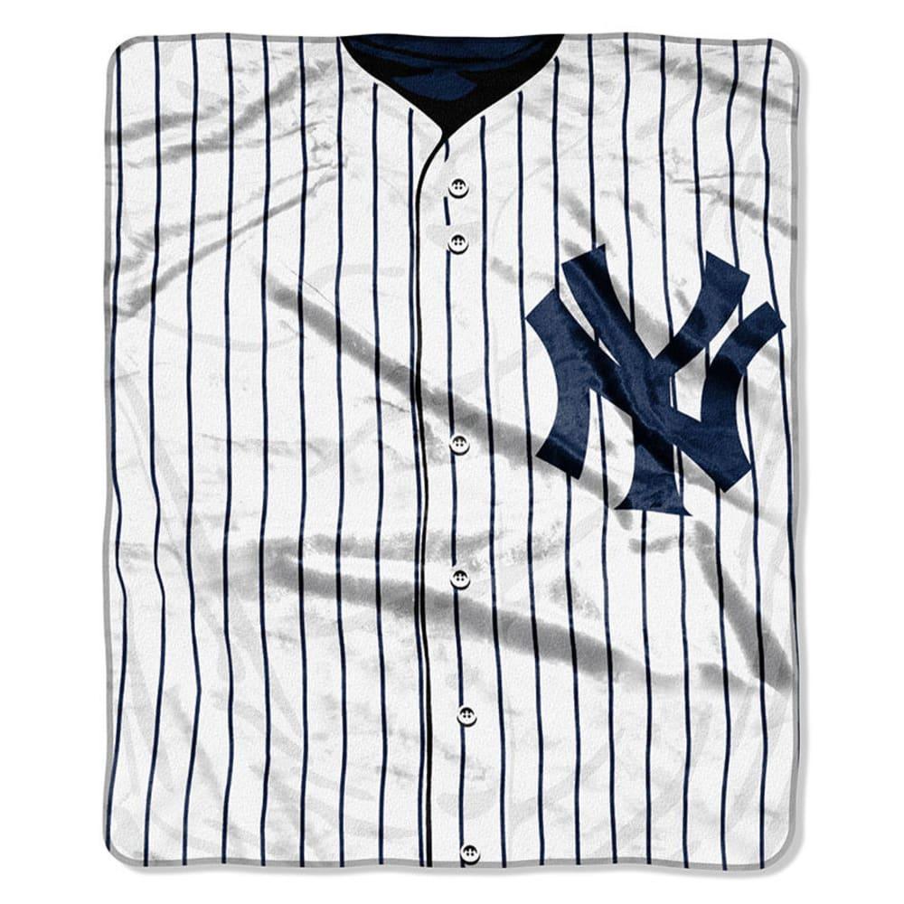 NEW YORK YANKEES Raschel Blanket - ASSORTED