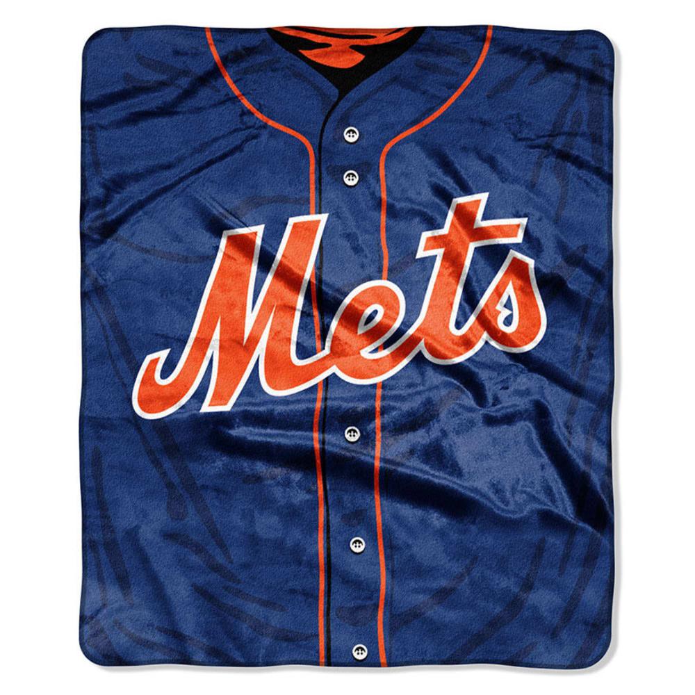 NEW YORK METS Raschel Blanket ONE SIZE