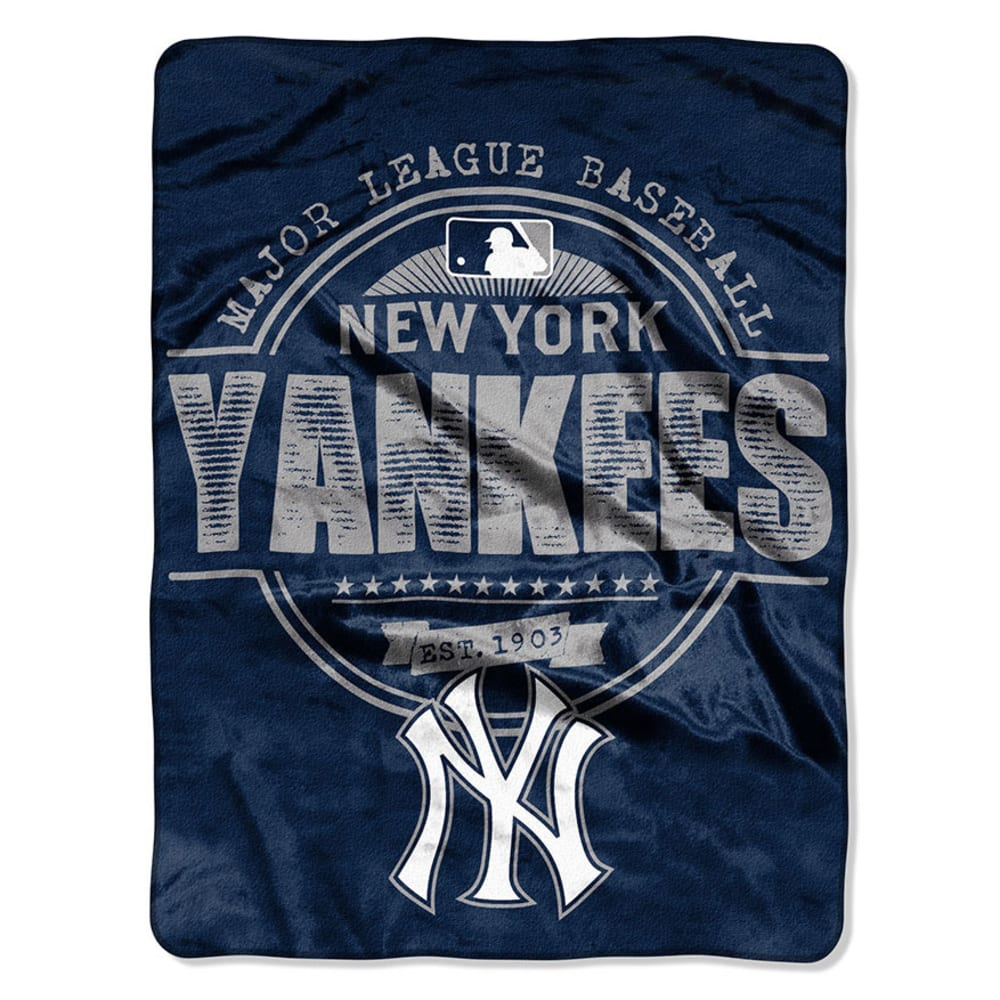 NEW YORK YANKEES Micro Blanket - ASSORTED