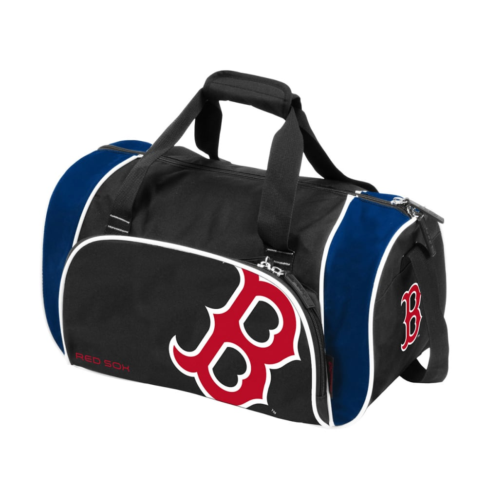 BOSTON RED SOX Athletic Duffel Bag - blk/navy trim