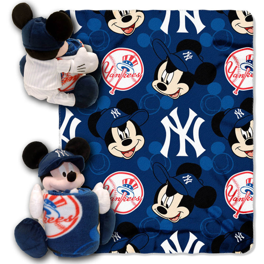 NEW YORK YANKEES Mickey Mouse Blanket Set - MULTI