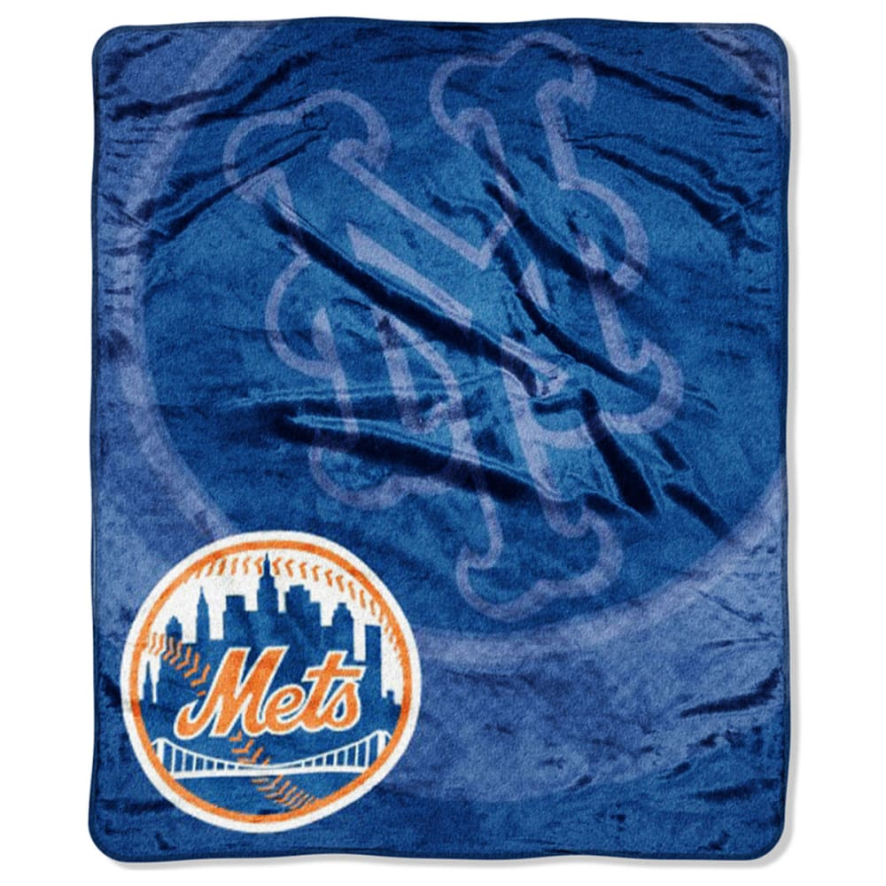 NEW YORK METS Raschel Throw Blanket - ASSORTED