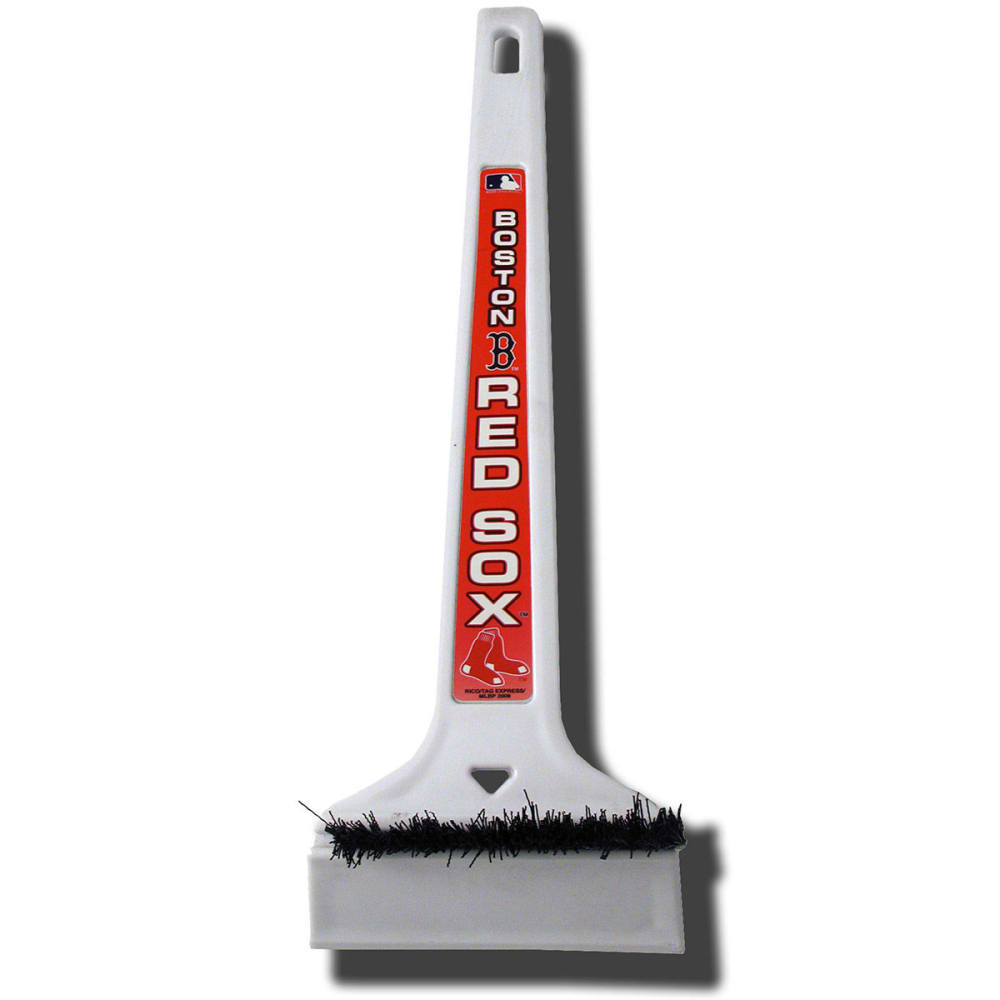 BOSTON RED SOX Ice Scraper, Large - GRANITE HEATHER/OXFO