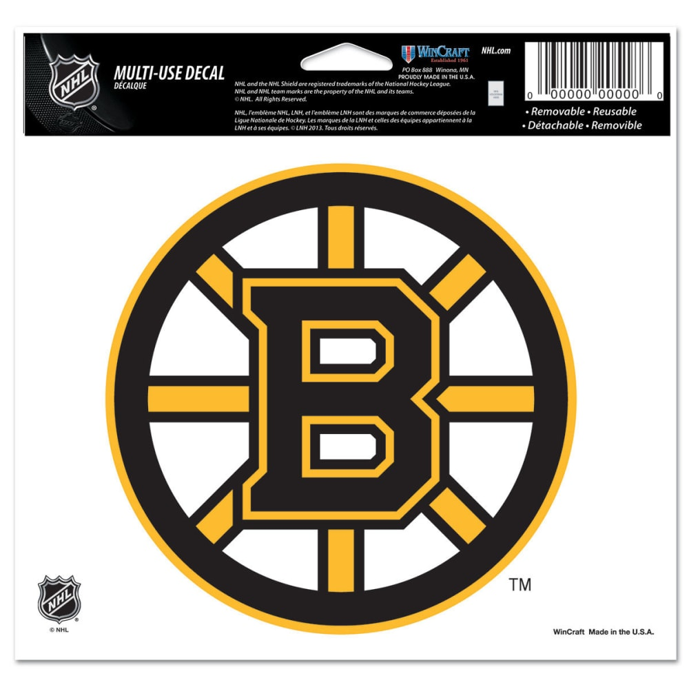 BOSTON BRUINS Ultra Decal - ASSORTED