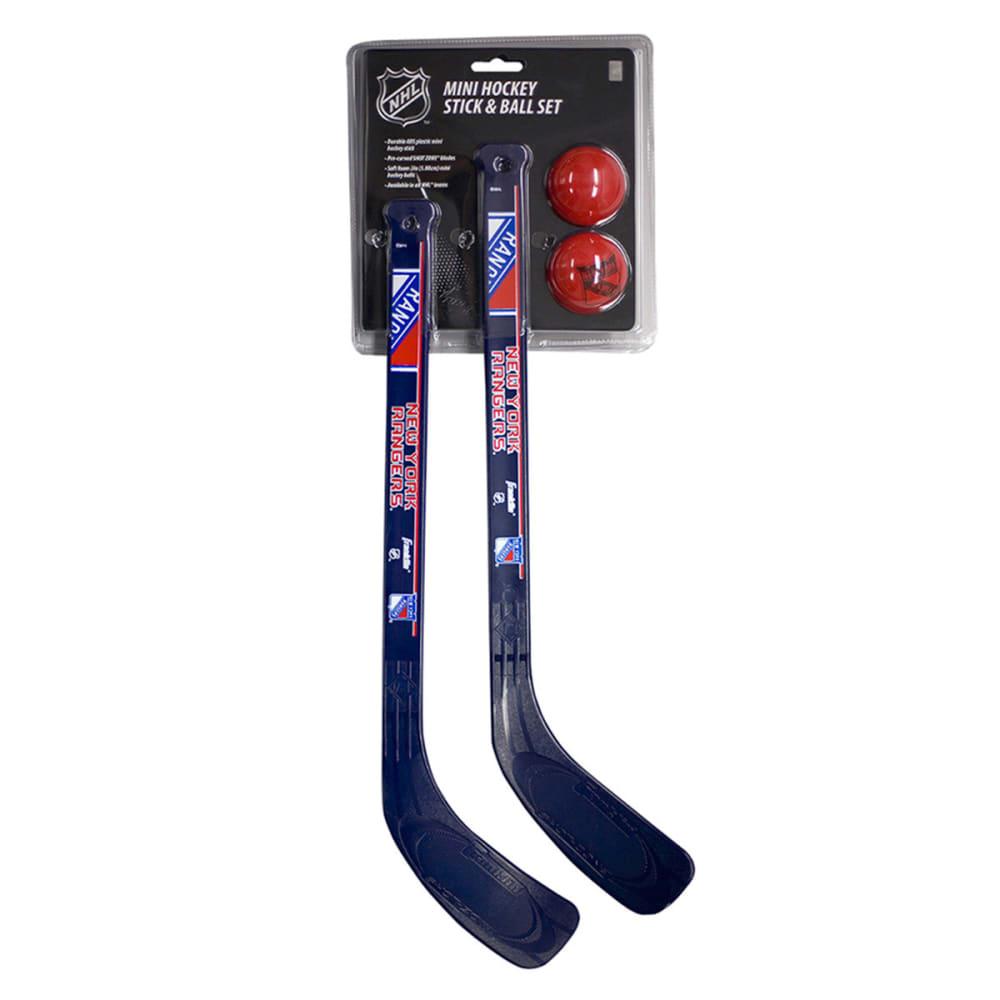 NEW YORK RANGERS Mini Two Hockey Set - ASSORTED