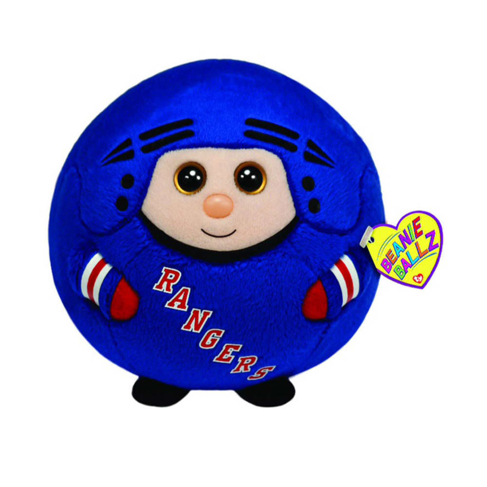 TY New York Rangers Beanie Ballz - ASSORTED