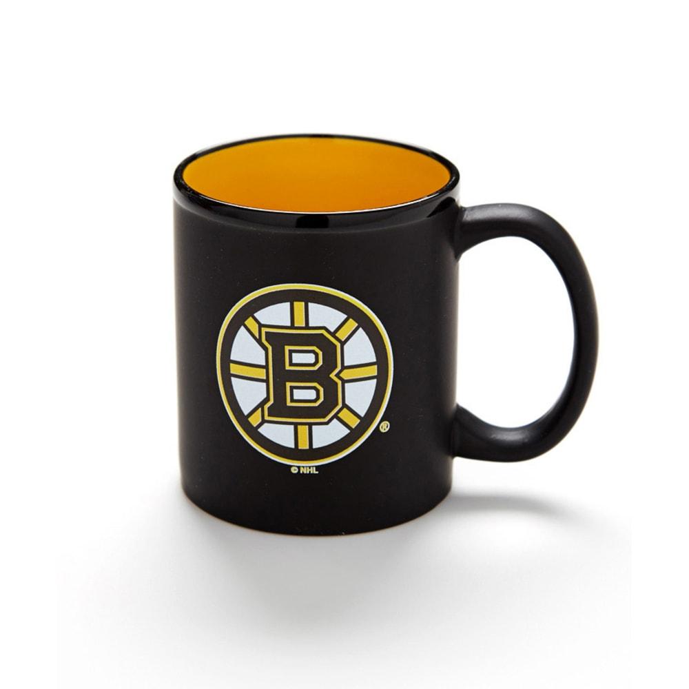 BOSTON BRUINS Matte Black Mug - ASSORTED