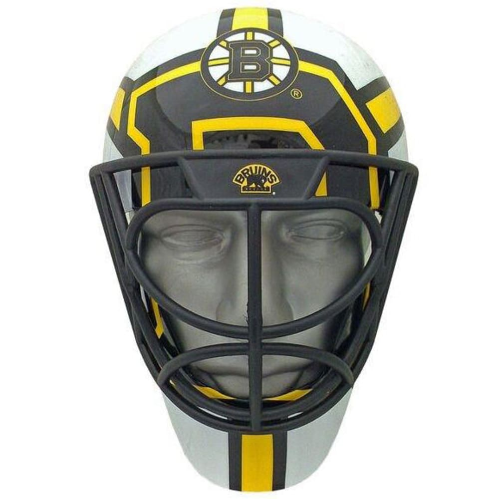BOSTON BRUINS Goalie Helmet-Style FanMask - BLACK/YELLOW