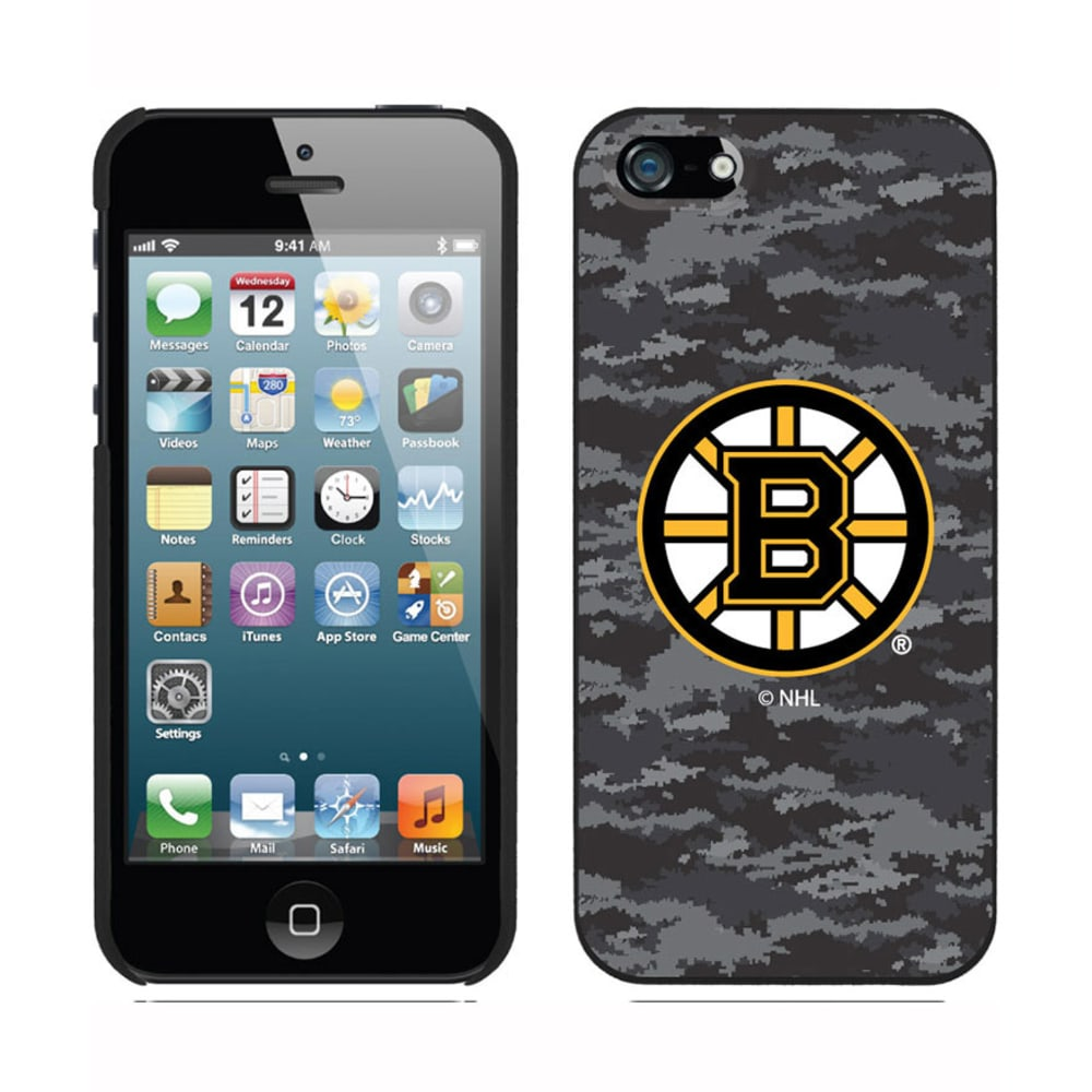 COVEROO Boston Bruins iPhone 5/5s Camo Thinshield Case - ASSORTED