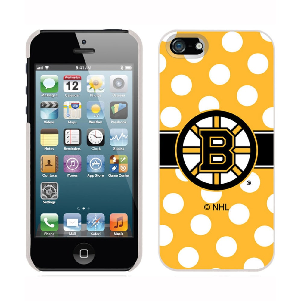 COVEROO Boston Bruins iPhone 5/5s Polka Dot Thinshield Case - ASSORTED