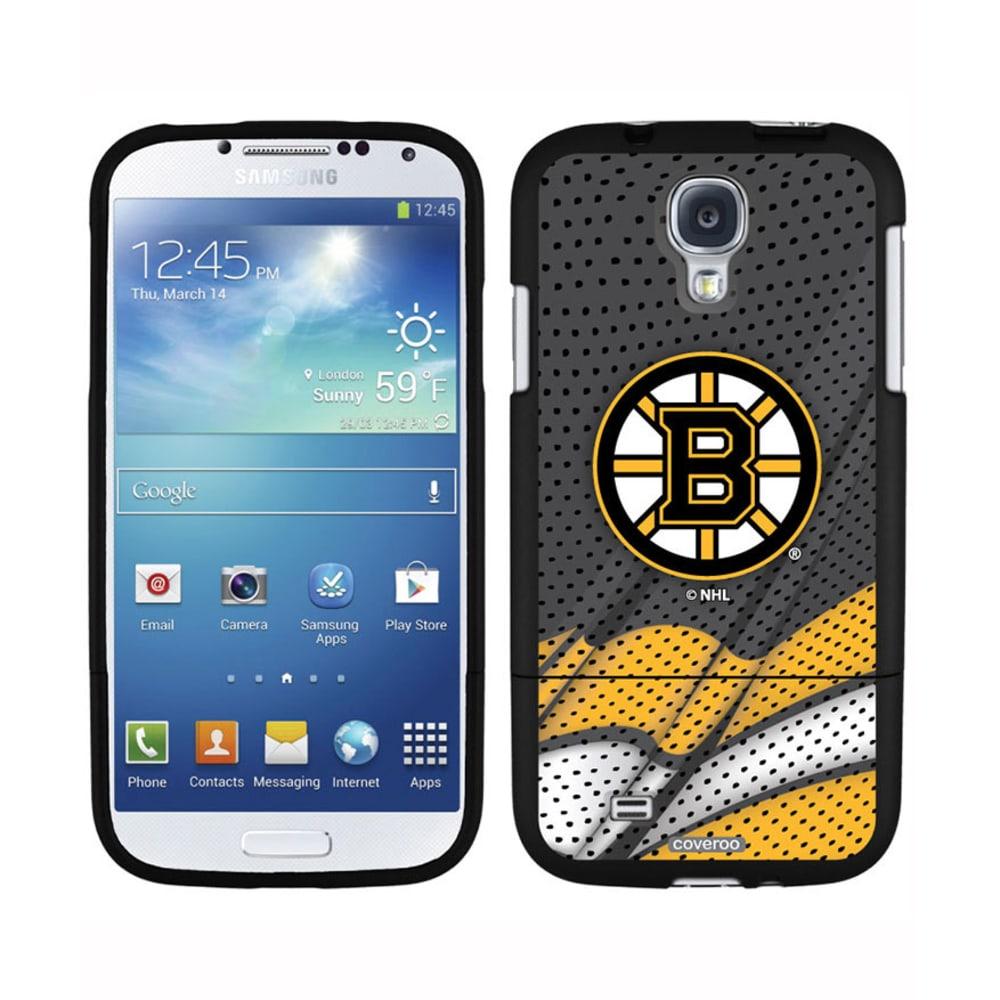 COVEROO Boston Bruins Galaxy S4 Slider Case - ASSORTED
