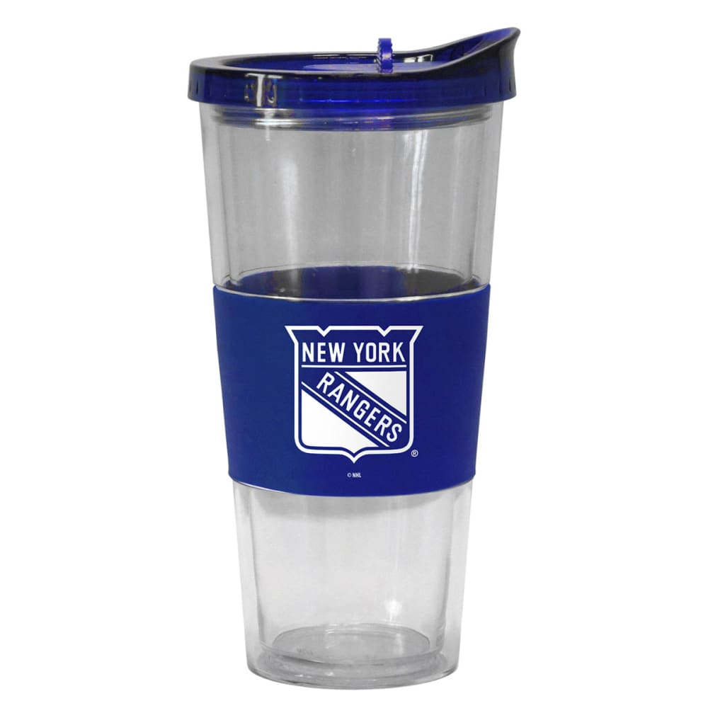 NEW YORK RANGERS Slider Top Tumbler Compatible with Propeller Straw - NAVY