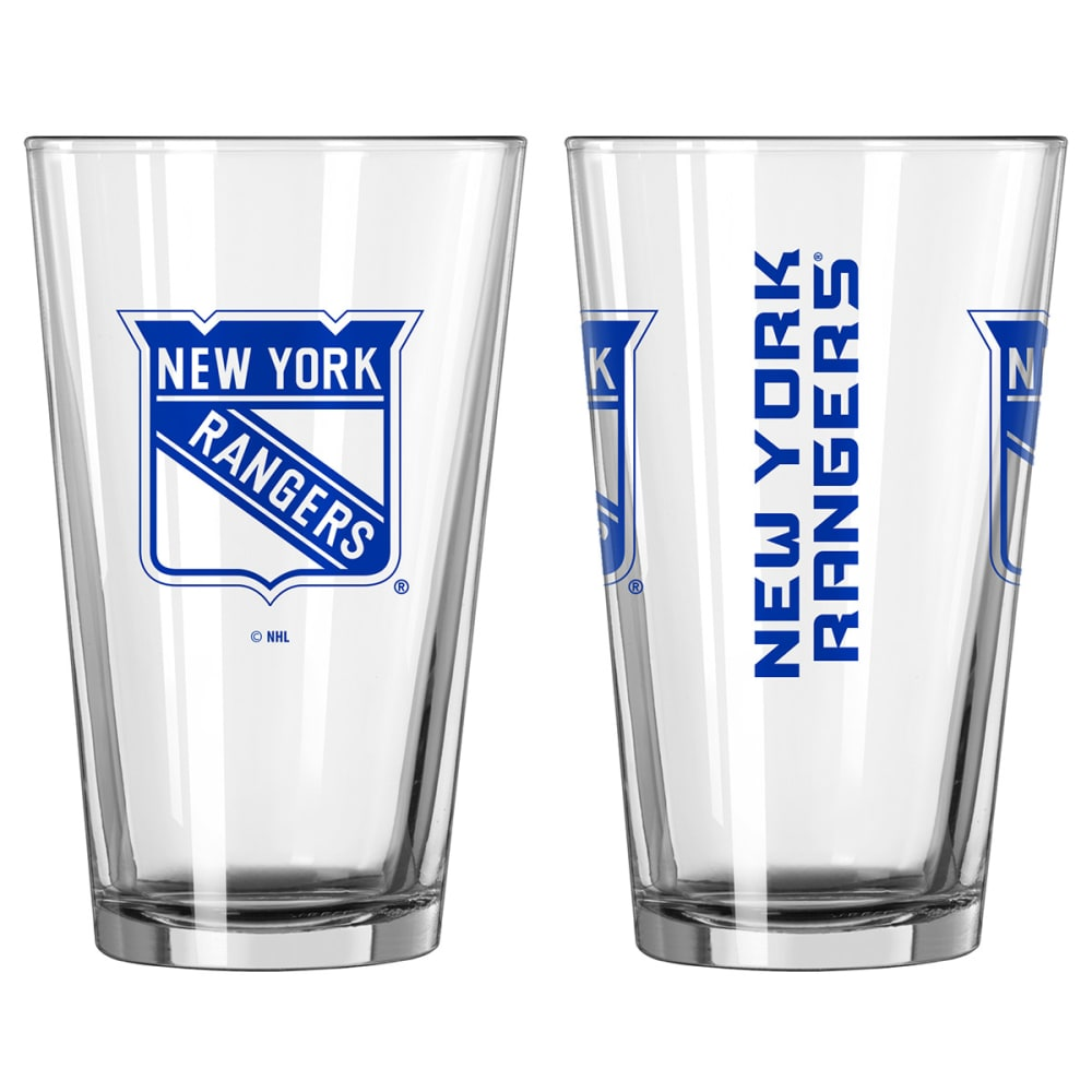 NEW YORK RANGERS Game Day Pint Glass - MULTI