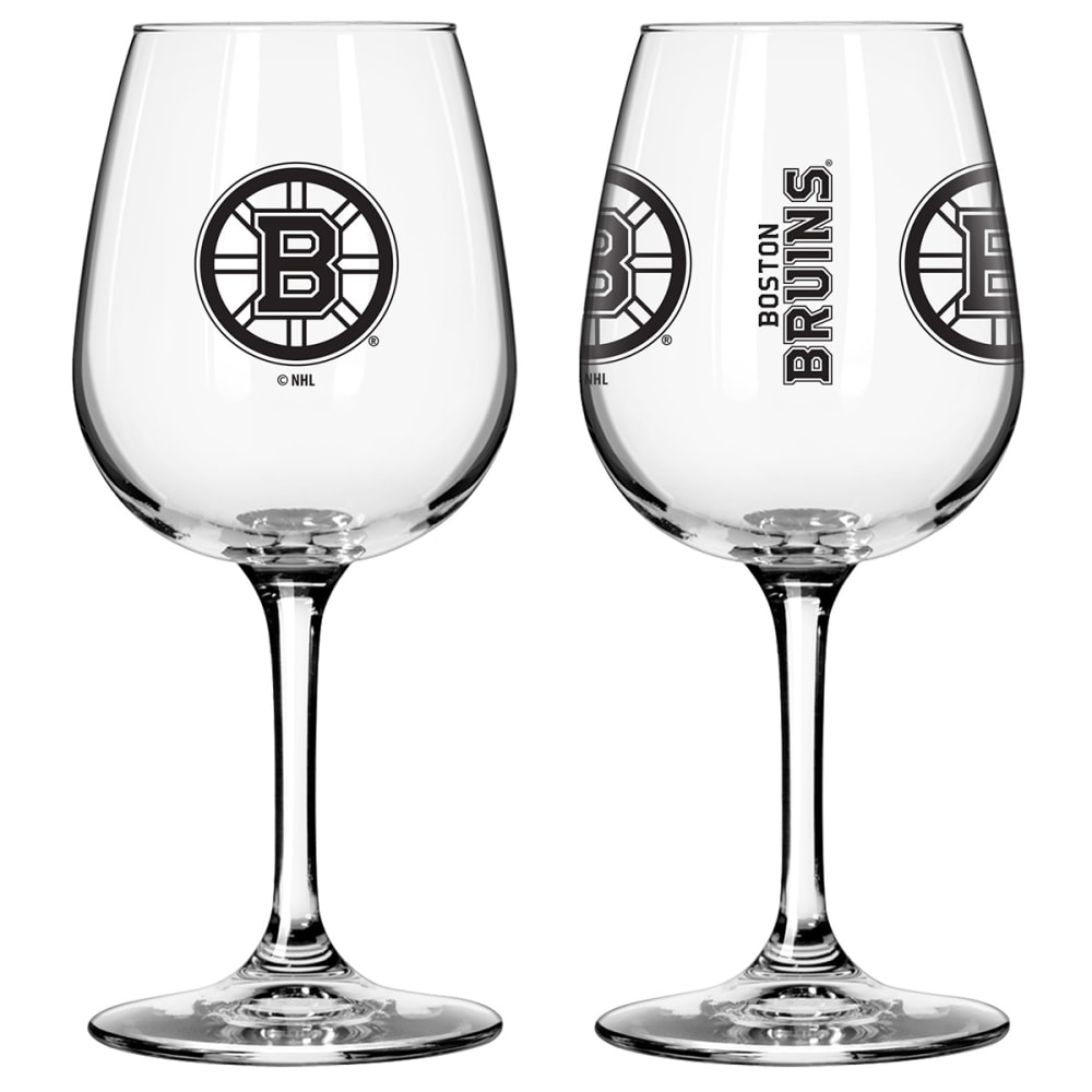 BOSTON BRUINS 2 Pack Game Day Wine Glasses - BRUINS