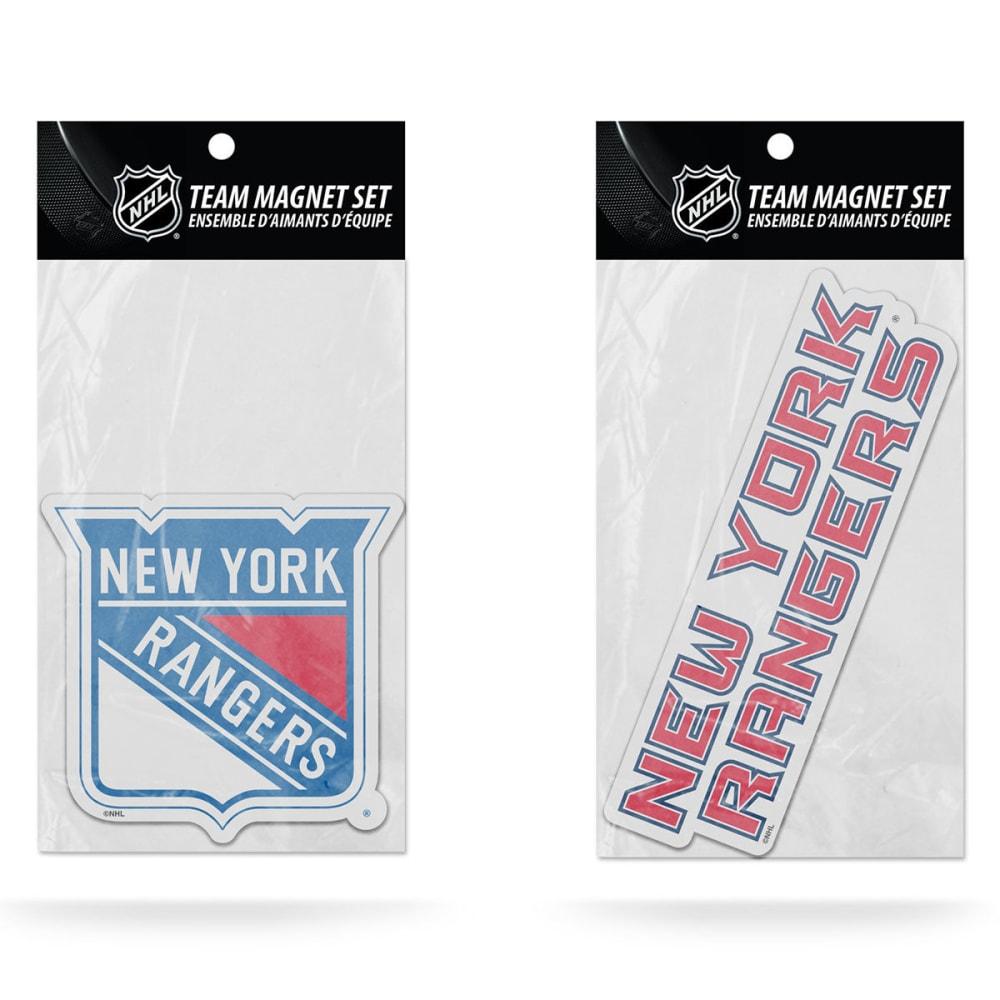 NEW YORK RANGERS Magnet Set, 2 Piece - RANGERS